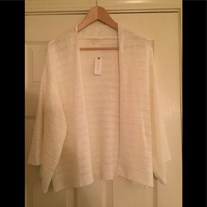 Anthropologie short cardigan